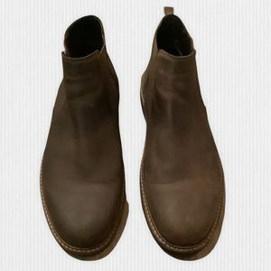 Ecco Brown Leather Chelsea Boot 43/9-9.5